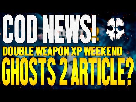 COD News! Double WEAPON XP Weekend // Ghosts 2 Article and E3 Gameplay Reveal