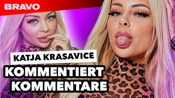 """Katja Krasavice reagiert auf Hater-Kommentare: """"Du versaust die Jugend!"""""""