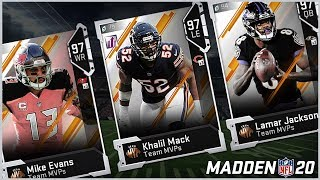 Team MVP's Coming To MUT 20 This Friday? Predicting All 32 Offense And Defense Team MVP's