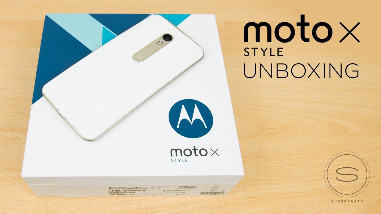 Moto X Style/Pure Unboxing UK