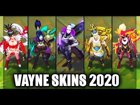 All Vayne Skins Spotlight 2020 (League of Legends)
