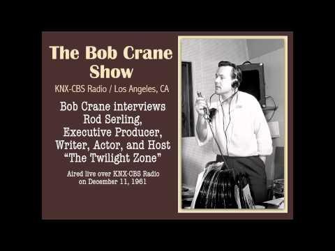 The Bob Crane Show / KNX-CBS Radio / Interview with Rod Serling / Segment 1 (1961)