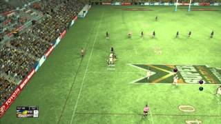 rugby league live 2 game play Preliminary Final cowboys vs west tigers