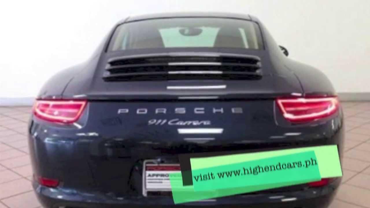 2013 Porsche Carrera S Pdk Philippines Wwwhighendcarsph