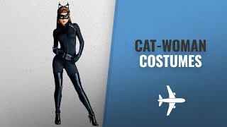 Top 10 Catwoman Costumes Halloween 2018: Secret Wishes Dark Knight Rises Adult Catwoman Costume,