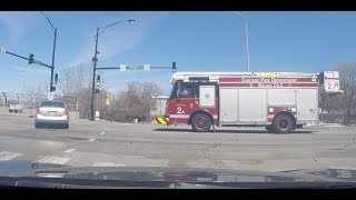 Car vs. Firetruck | Bad Drivers of Chicago #37