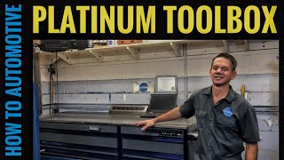 Cornwell Toolbox 84 Inch Platinum Series Toolbox Tour (How to Automotive)