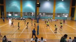 2017 B Div National Semi Final Girls PHS vs CGS 2-0 1st set