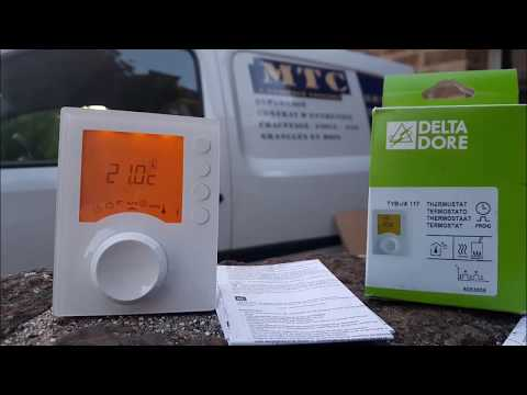 notice d'utilisation du thermostat delta dore