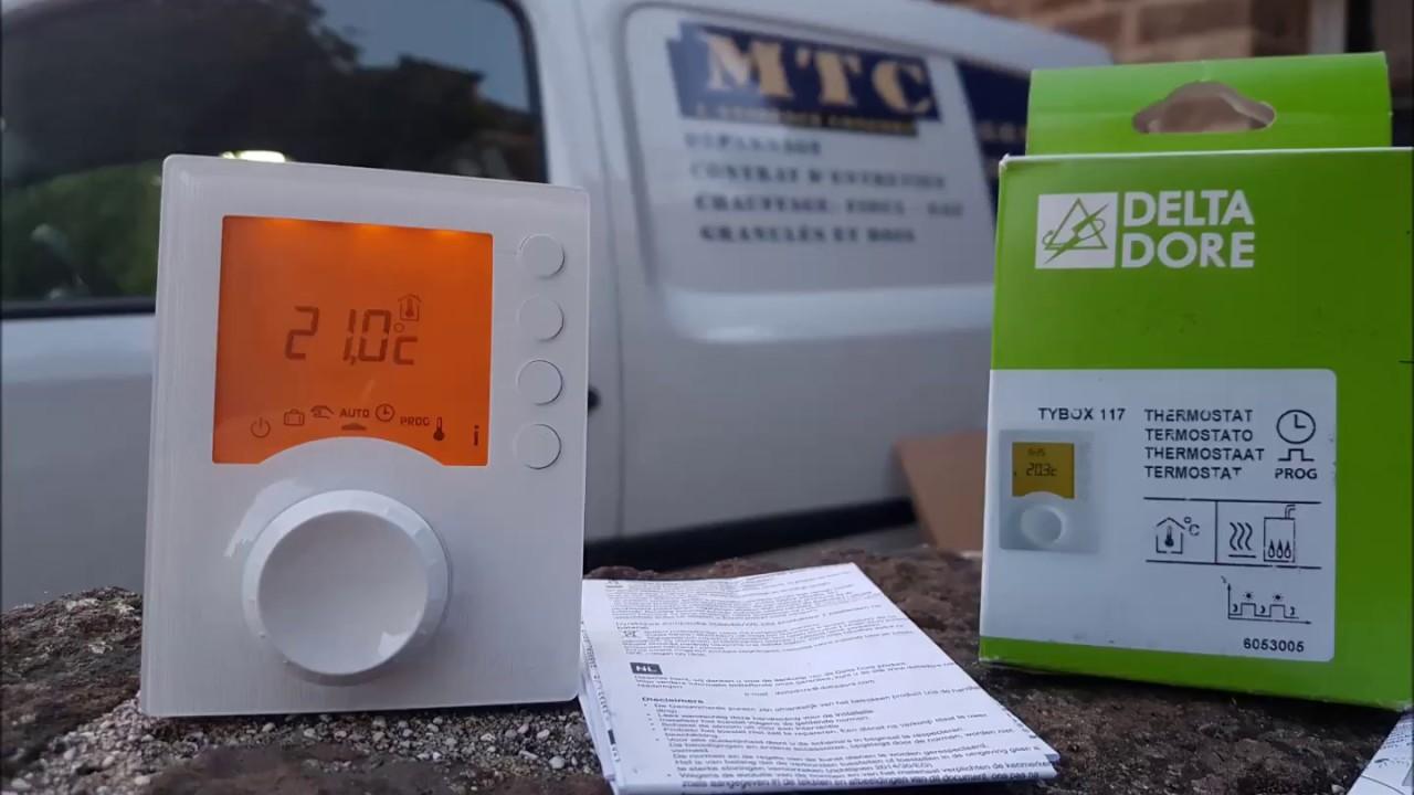 Nouvel notice d'utilisation du thermostat delta dore - YouTube DM-19