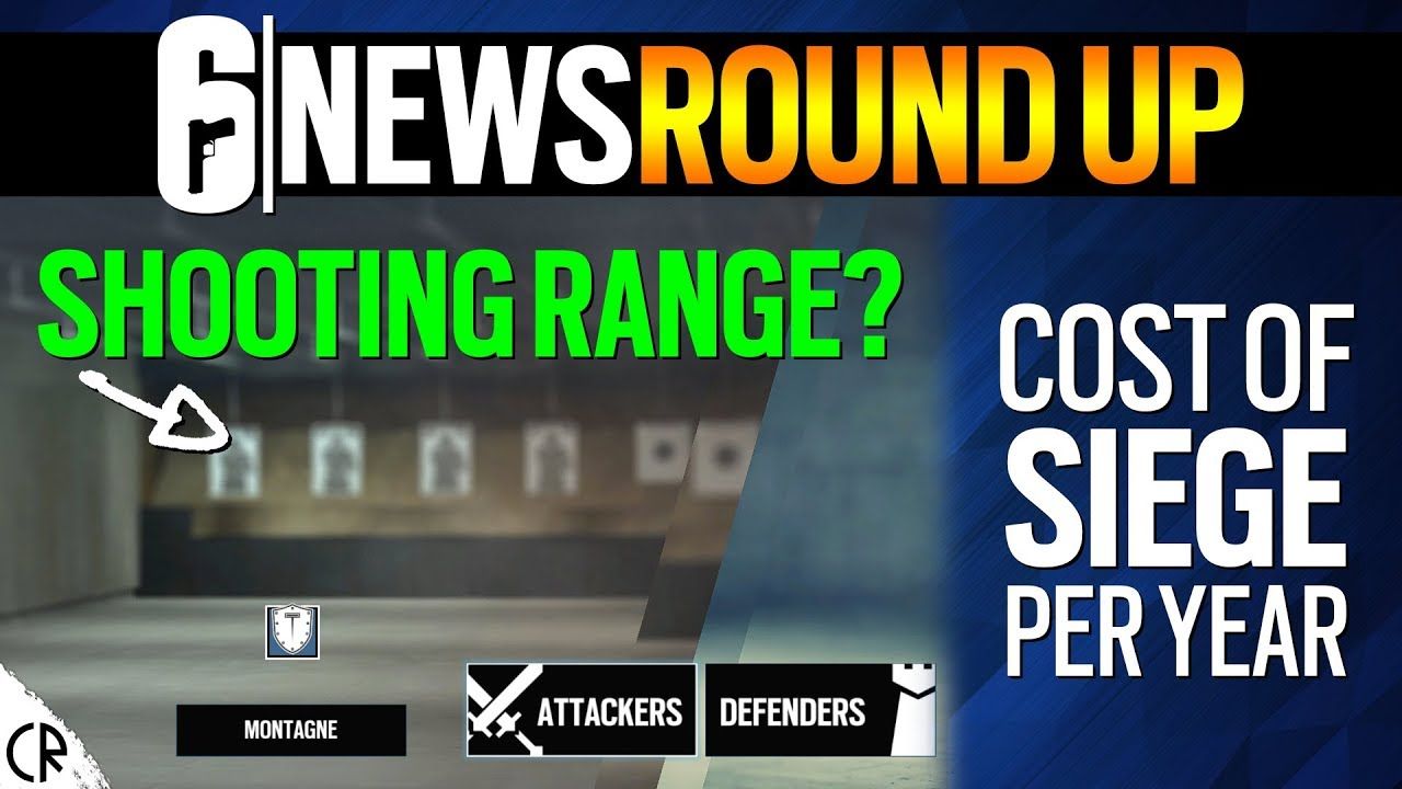 Shooting Range & Cost of Siege Per Year - 6News - Tom Clancy's Rainbow Six  Siege