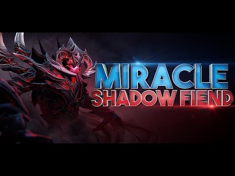 The Art Of Shadow Fiend By Miracle- - EPIC Gameplay Compilation Dota 2