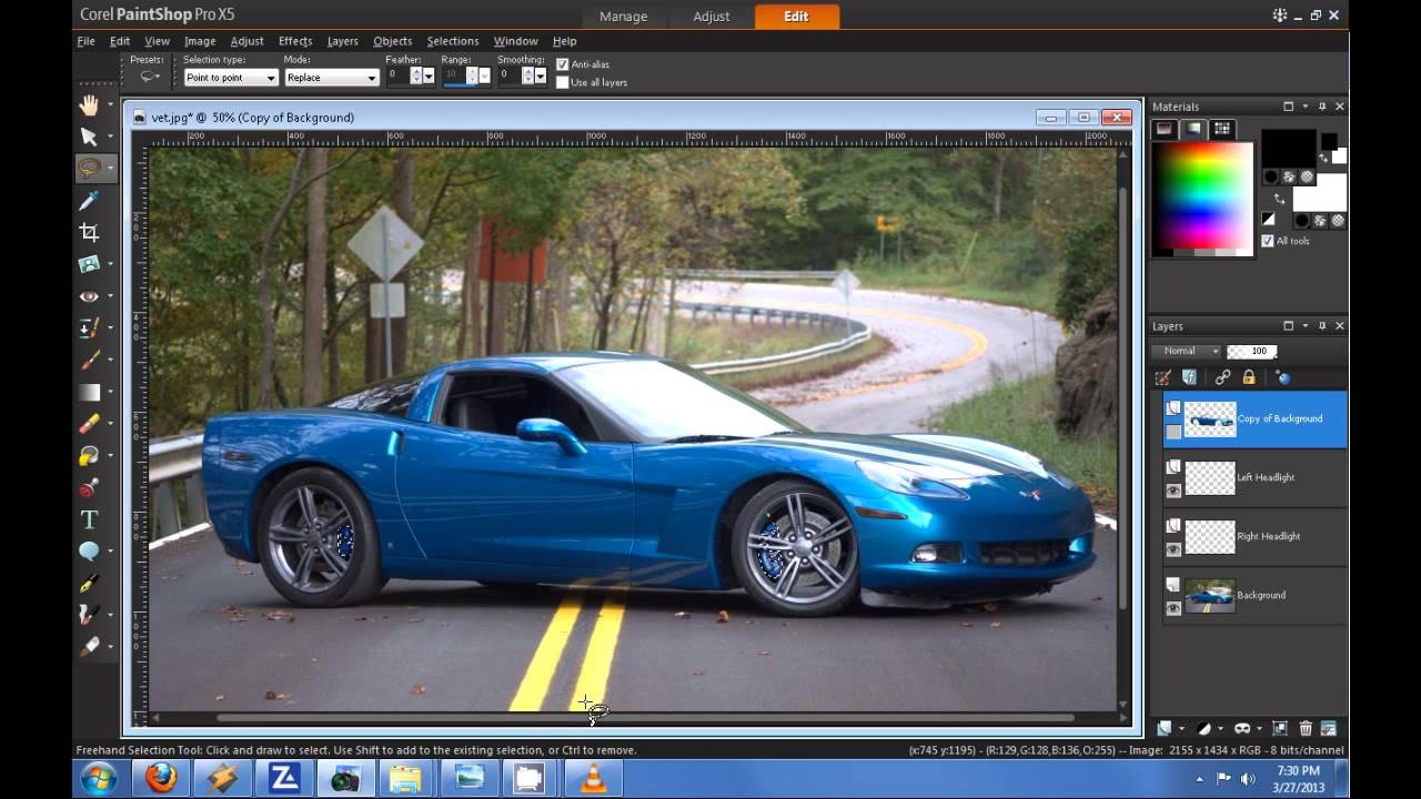 how to change a color of a car in photoshop