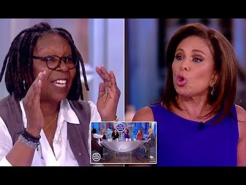 Jeanine Pirro: Whoopi Goldberg Screamed at Me Backstage at 'The View'