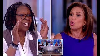Whoopi Goldberg and Judge Jeanine Pirro get into a fight on The View - 247 news