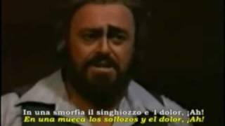 Pavarotti Vesti La Giubba - I Pagliacci.wmv