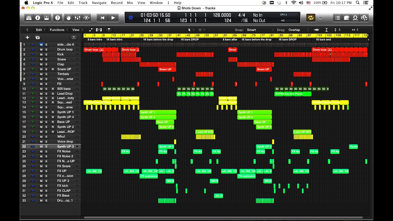 Logic pro x template shots down big room edm youtube maxwellsz