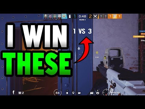 EPIC 1V3 VALKYRIE CLUTCH! | Rainbow Six Siege