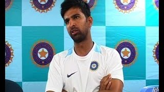 India A all rounder Ashok Menaria post match conference