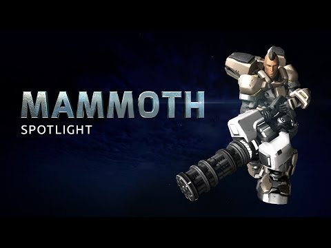 Mammoth Battleframe Spotlight - Firefall