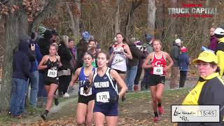 2018 New England Championships Girls Race