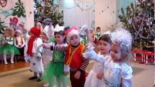 Новый год в детском саду №219 Днепропетровск