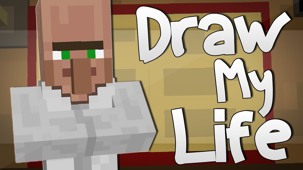 DR TRAYAURUS' DRAW MY LIFE   Minecraft - YouTube