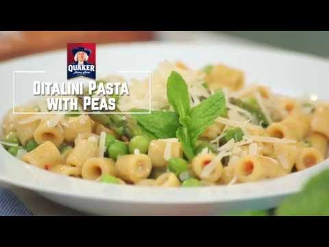 Chef Osama's Quaker Ditalini Pasta With Peas Recipe