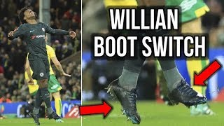 WHY IS WILLIAN LEAVING NIKE?
