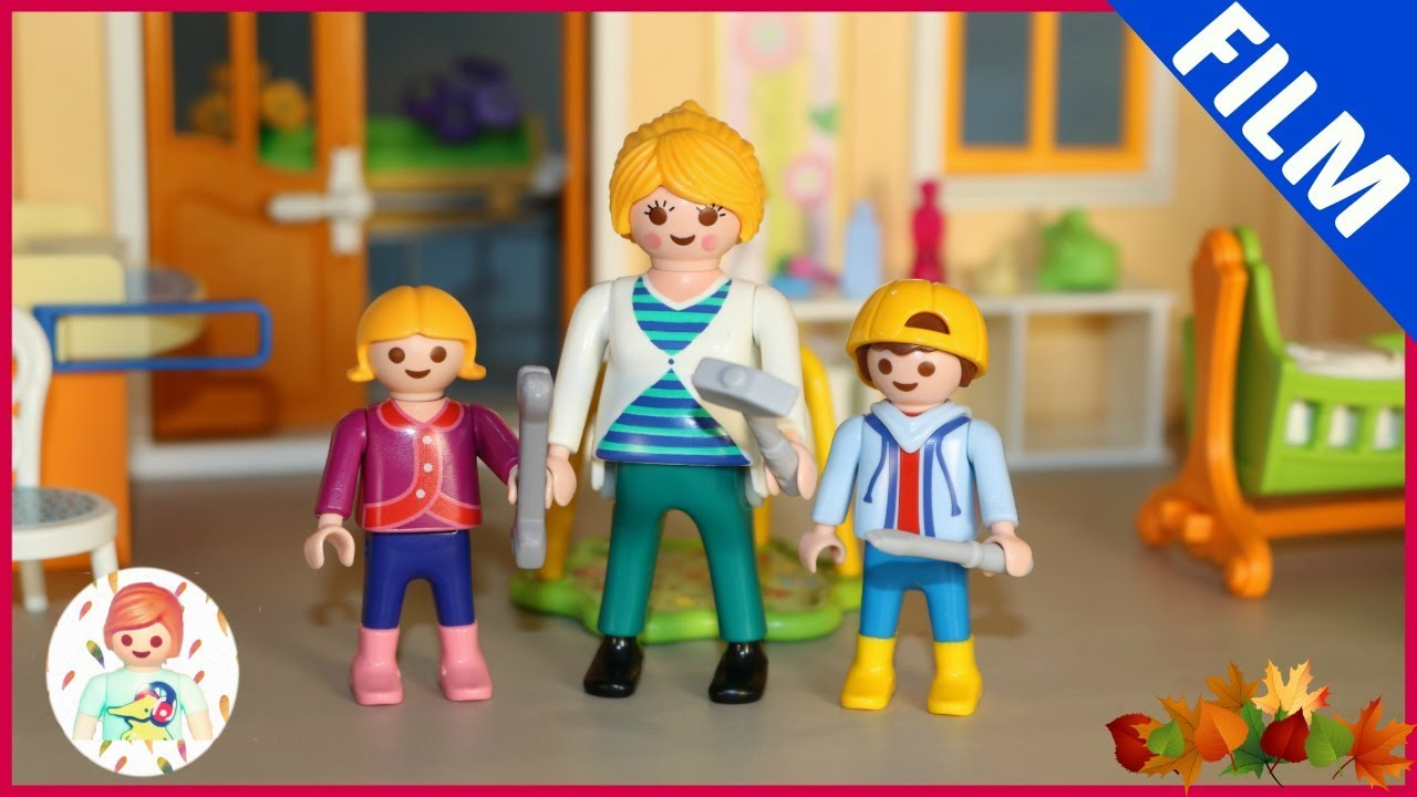 Superbe Playmobil Film Deutsch   Das Babyzimmer   PlaymoGeschichten   Kinderfilm    Familie Fröhlich