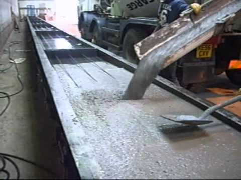 Coote Engineering, Pre stressed Wall Panel.wmv