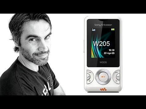 "Sony Ericsson W205, ""WALKMAN BÁSICO"" | Retro Review en español"