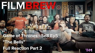 "Download Game of Thrones - Se8 Ep5 - ""The Bells"" - Reaction - Full Reaction Part 2 Mp3 and Videos"