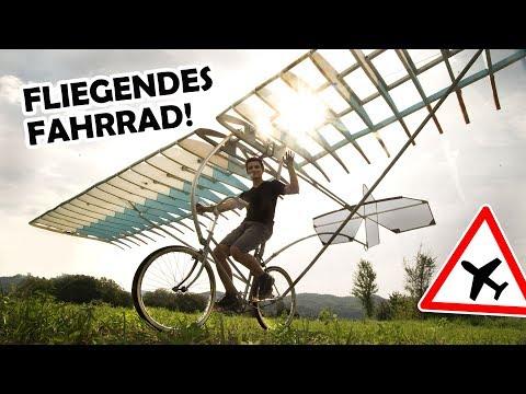 Transforming a bike into HOMEMADE PLANE! | FLYING BIKE #1 (with english subtitles)