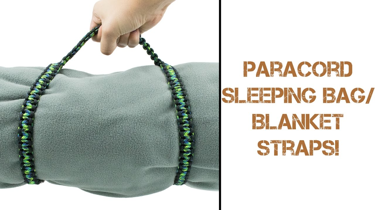A Closer Look At Paracord Blanket Sleeping Bag Straps