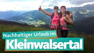 Kleinwalsertal  – Nachhaltiger Alpentourismus   WDR Reisen