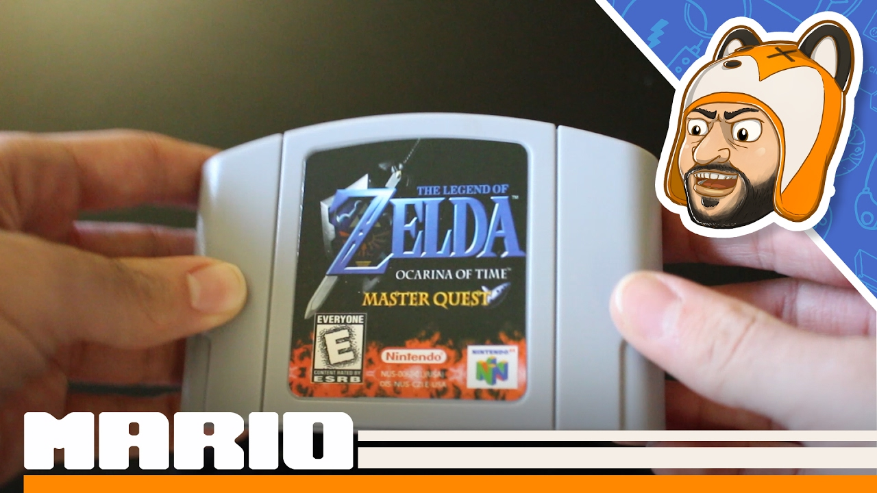 Ocarina of Time Master Quest on a Cartridge?!   Unboxing, Overview &  Teardown