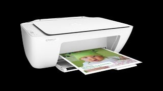 HP Printer 2130 Unboxing Install print and scanning