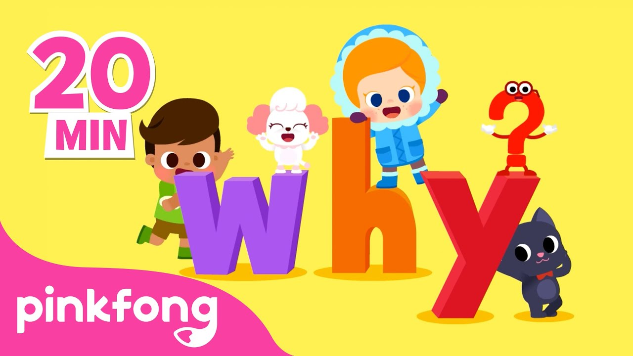 Por que❓-Lágrima e Cores de Pele e mais músicas infantis|+Compilação| Pinkfong Canções para crianças