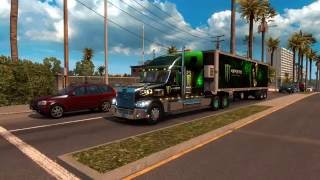 American Truck Simulator Freightliner Coronado  +Monster Energy Combo Pack