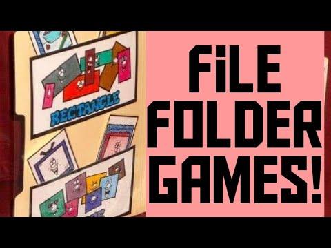 File Folder Games!!