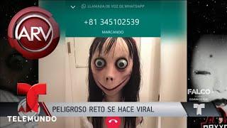 El aterrador reto del momo y su inminente peligro | Al Rojo Vivo | Telemundo