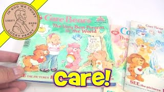 Care Bears Vintage 1980's Story Books Lot, By Kids Stuff