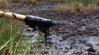 (8/11) DESASTRE AMBIENTAL DE CHEVRON-TEXACO EN AMAZONIA DE SUDAMERICA