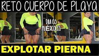 CUADRICEPS A REVENTAR / RETO CUERPO DE PLAYA ENFOCADO EN PIERNAS. DIA 03 thumbnail