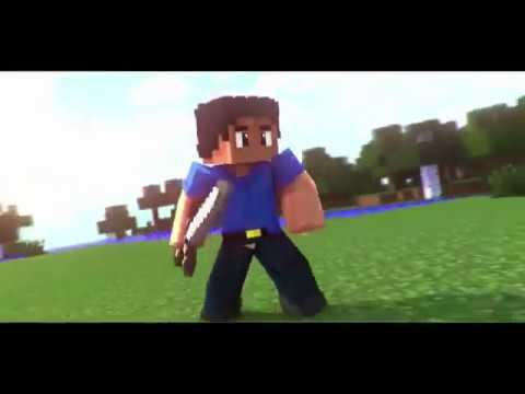 Free Minecraft Intro Template Blender Templates