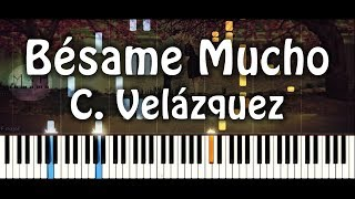 Bésame mucho - Piano Cover (Richard Clayderman)
