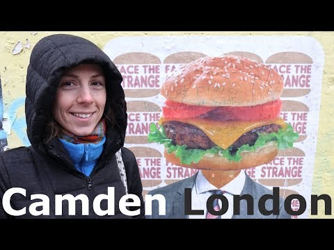 Camden, London | Exploring the Markets, Jellied Eels and Spotted Dick!