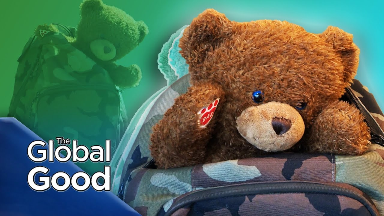 The Global Good | A lost teddy bear's epic journey home