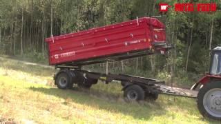 Przyczepa dwuosiowa T940 Metal-Fach NOWOŚĆ!